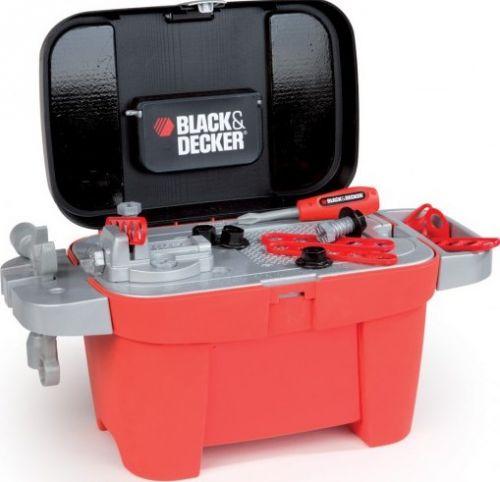 SMOBY Black & Decker pracovní kufřík a stůl 2v1 cena od 0 Kč