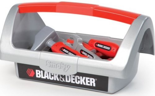 SMOBY Black & Decker pracovní kufřík s nářadím cena od 0 Kč
