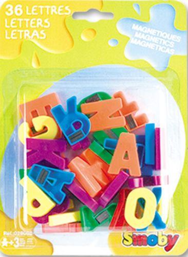 SMOBY Magnetická písmenka 36 ks cena od 108 Kč