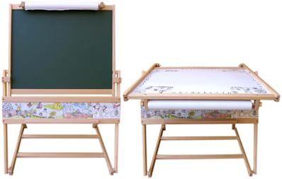 Casallia Multifunkční tabule a stoleček 2v1