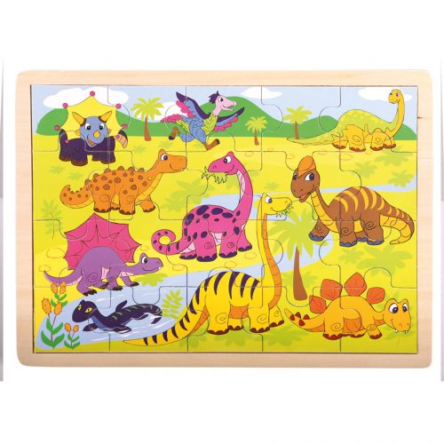 Bino Puzzle Dinosauři cena od 108 Kč