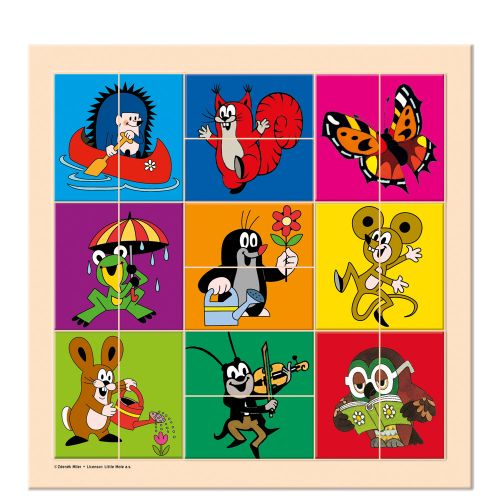 Bino Puzzle Krteček a přátelé cena od 86 Kč