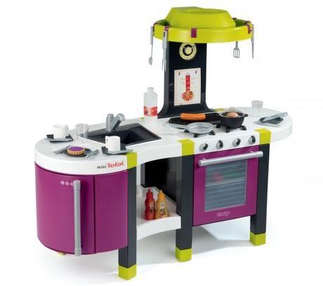 SMOBY Kuchyňka French Touch TEFAL se zvukem 24133 cena od 0 Kč
