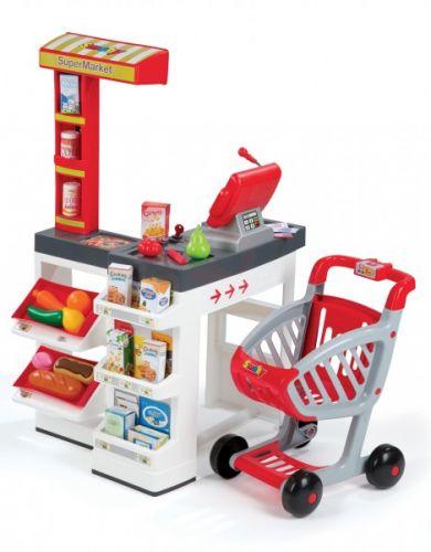 SMOBY Supermarket zvukový s čtecím pásem 350203 cena od 0 Kč