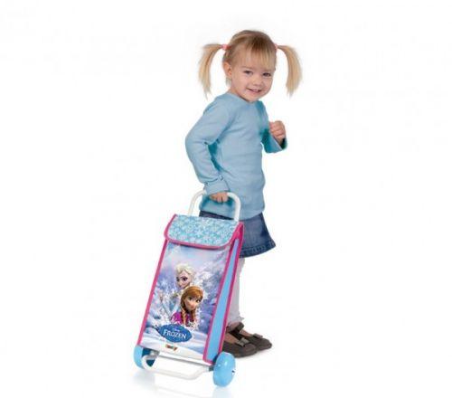 SMOBY nákupní taška na kolečkách Frozen 24501 cena od 0 Kč