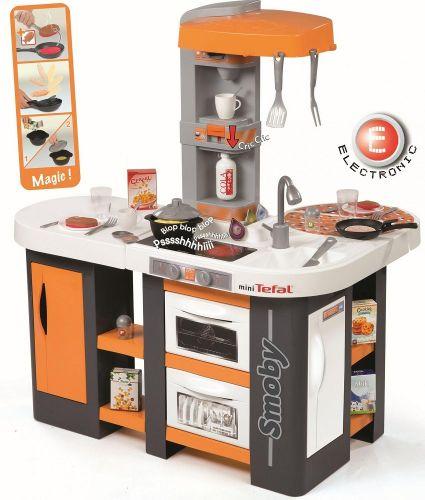 SMOBY elektronická kuchyňka Studio Tefal XL se zvuky 311002 cena od 2535 Kč