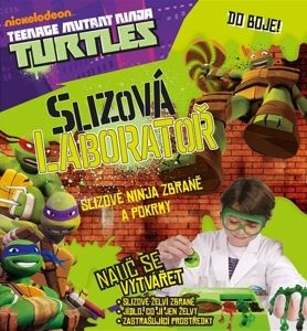 ALBI Želvy Ninja slizová laboratoř cena od 254 Kč