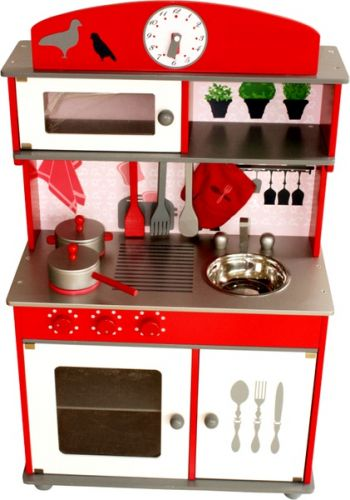 Aga4Kids Kuchyňka RED HOME KITCHEN