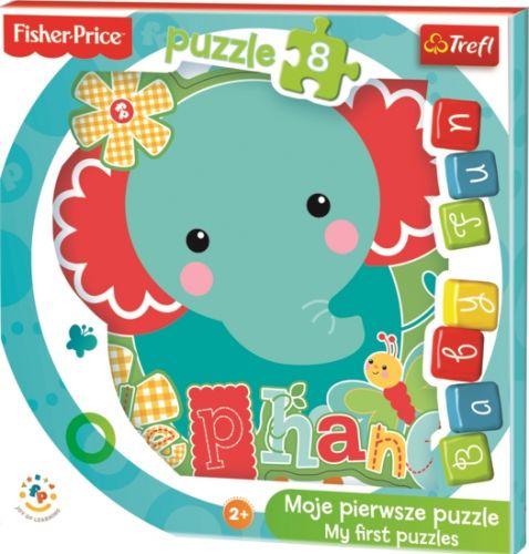 Trefl Moje první puzzle Fisher Price Sloník 6 cena od 78 Kč