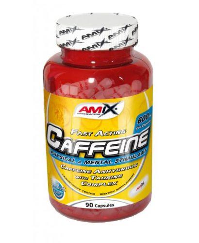 Amix Caffeine with Taurine 90 kapslí