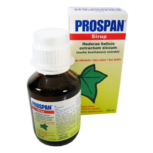 PROSPAN sirup 700 mg 100 ml cena od 105 Kč