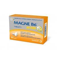 Magne B6 ACTIVE 30 tablet cena od 129 Kč