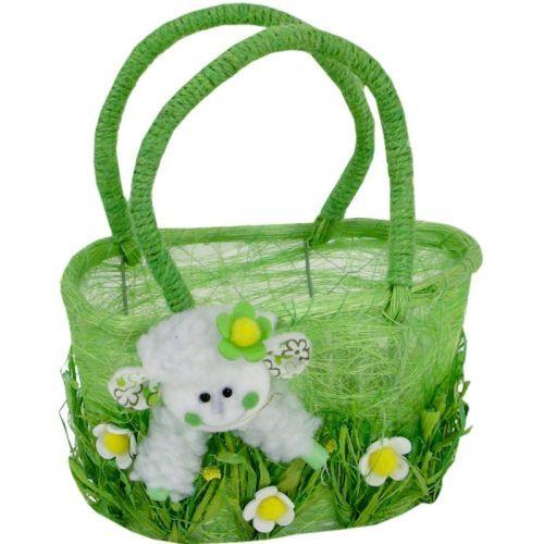 Velikonoční košík s ovečkou