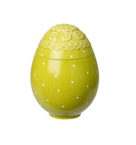 Villeroy & Boch Spring Decoration Dóza Zelené vejce 15 cm
