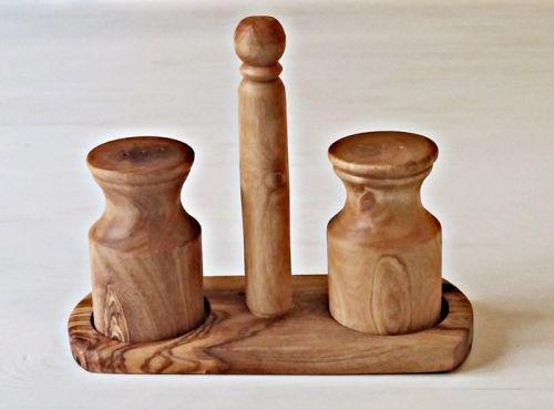 ELIXIR Crete Set na pepř a sůl z olivového dřeva cena od 488 Kč