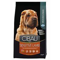Cibau Dog Adult Sensitive Lamb&Rice 12 kg cena od 309 Kč