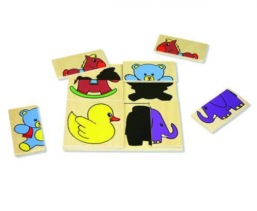 ANDREU Toys Skládačka zvířátka cena od 0 Kč
