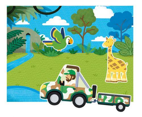 ANDREU Toys Magnetická džungle