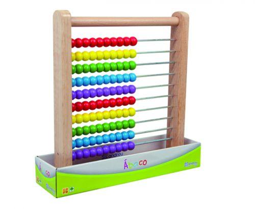 ANDREU Toys Dřevěné počítadlo