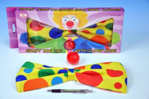 Teddies Motýlek s klaunským nosem cena od 79 Kč