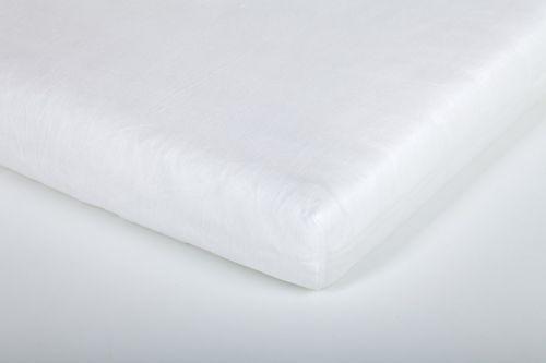 Träumeland Bílé jersey prostěradlo