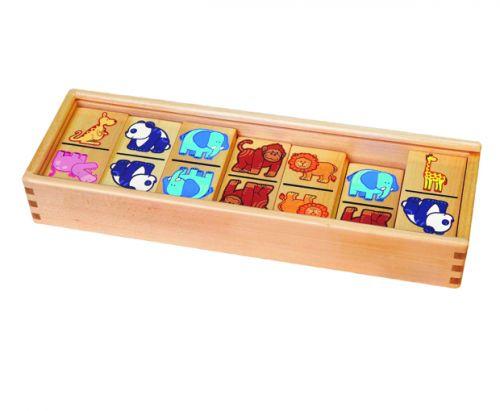 ANDREU Toys Domino zvířátka cena od 429 Kč