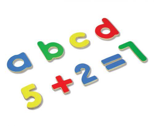 ANDREU Toys Sada magnetických písmen a číslic cena od 369 Kč