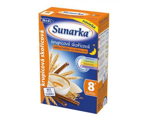 Sunarka Krupicová kašička se skořicí na dobrou noc mléčná 225 g