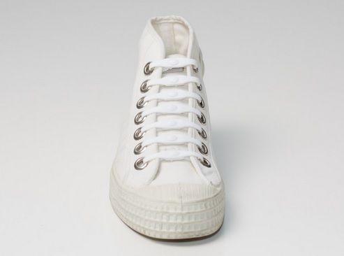 Shoeps Tkaničky bílé