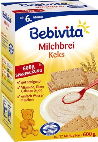 Bebivita Mléčná kaše sušenková 600 g