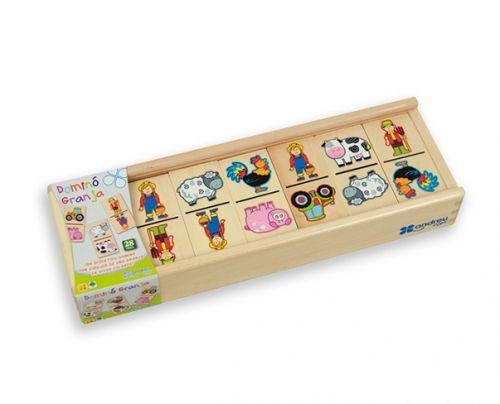 ANDREU Toys Domino farma cena od 348 Kč