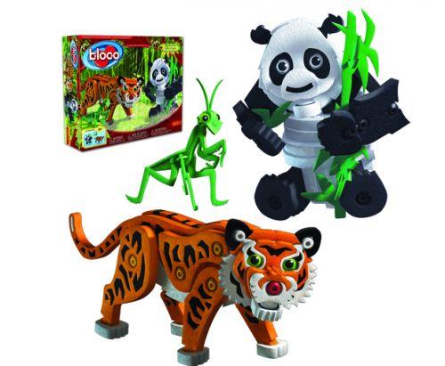 Bloco Tygr a panda cena od 0 Kč