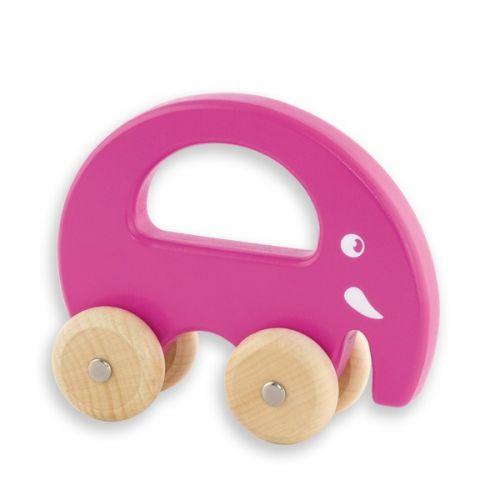 ANDREU Toys Dřevěný slon do ruky
