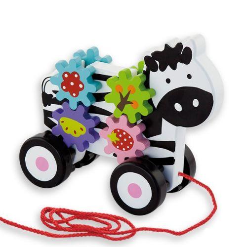 ANDREU Toys Tahací zebra