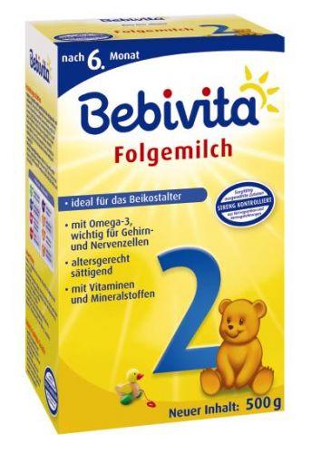 Bebivita Mléko 2 Instantní mléčná kojenecká výživa od 6. měsíce 4x500 g