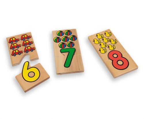 ANDREU Toys Číselné puzzle cena od 329 Kč