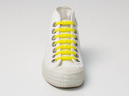 Shoeps Tkaničky žluté
