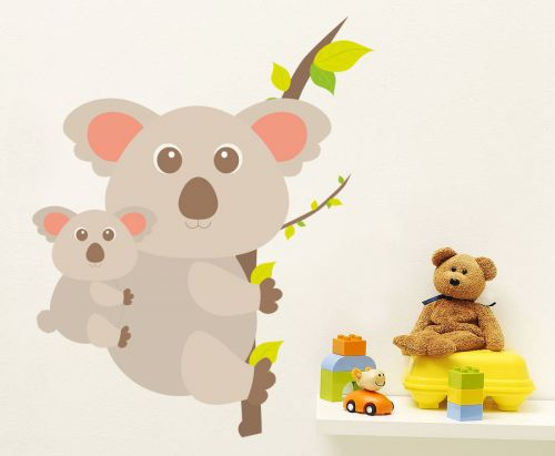 Housedecor Koala a mládě samolepky