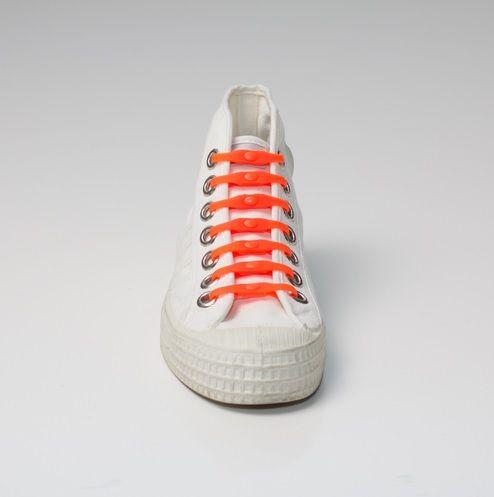 Shoeps Tkaničky oranžové