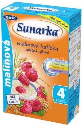 Sunarka Malinová kašička mléčná 225 g