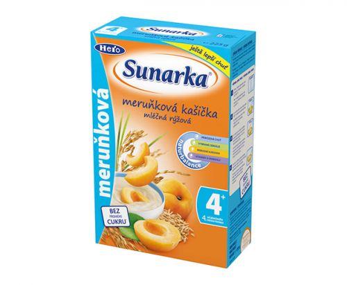 Sunarka Meruňková kašička mléčná 225 g