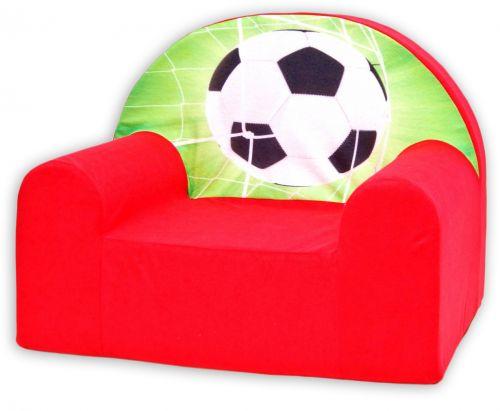 Baby Nellys Fotbal v červené křeslo