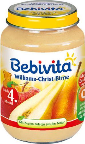 Bebivita Williams-Christ-hrušky 6x190 g