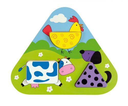 ANDREU Toys Geometrická vkládačka