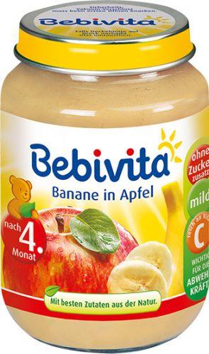 Bebivita Jablka s banánem 6x190 g