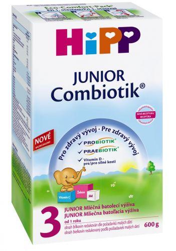 Hipp Pokračovací MKV 3 Junior Combiotik 4x600 g