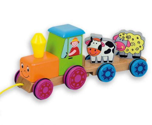 ANDREU Toys Traktor cena od 399 Kč