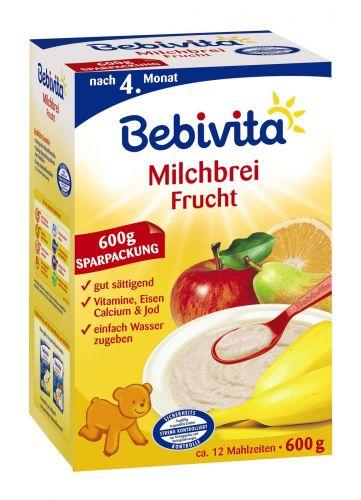 Bebivita Mléčná kaše ovocná 600 g