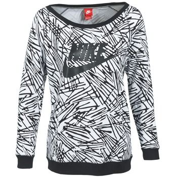 Nike RALLY BOYFRIEND EXPLODED CREW Mikina