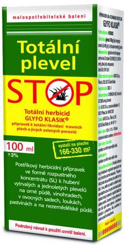 Agro CS PRAKTIK Totální plevel STOP100 ml